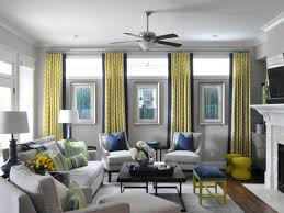 grey and yellow living room home design ideas