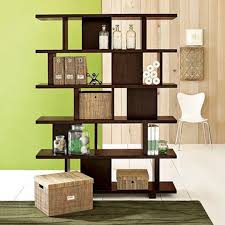 Wall Divider Bookcase Green Wall Bookcase Design Ideas Cool Library Design Ideas In