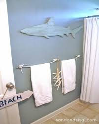 cool and creative shark bathroom accessories applied mostly to