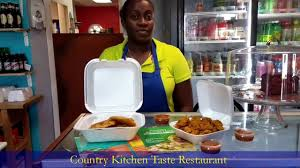 country kitchen taste restaurant caribbean food including conch
