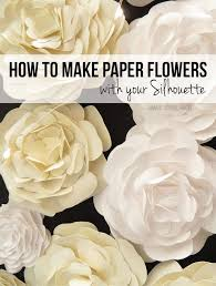 Make Flower With Paper - how to make paper flowers