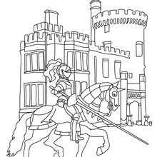knight princess coloring pages hellokids
