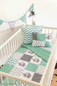 Green Elephant Crib Bedding 44 Best Images About Elephant Nursery On Pinterest
