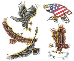 Eagle And Flag Tattoos Flag Tattoos Pictures Page 9