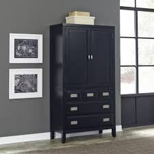 Sauder Palladia Armoire Cherry Sauder Armoires U0026 Wardrobes Bedroom Furniture The Home Depot