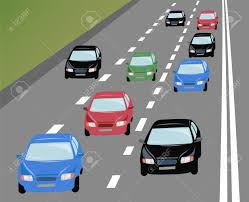 vehicles on road clipart clipartxtras