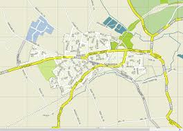 Somerset England Map Langport Map Of Town And Somerset Levels