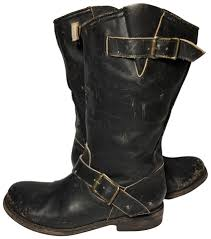 cheap boots for womens size 9 freebird black crosby leather motorcycle boots