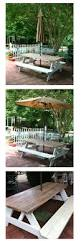 Tablecloth For Patio Table With Umbrella by Best 25 Picnic Table Umbrella Ideas On Pinterest Umbrella For