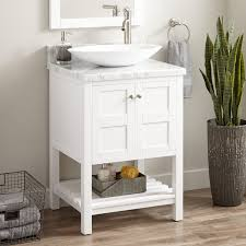 single sink console vanity single hole vessel sink vanity signature hardware