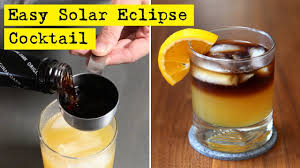 easy solar eclipse cocktail youtube