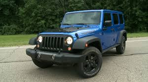 jeep wrangler black 2016 jeep wrangler black bear edition driving youtube