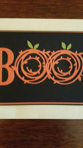happy halloween stampin up card made with swirly bird u0027s and su