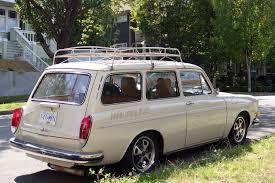 volkswagen squareback custom old parked cars vancouver rust