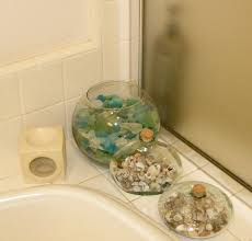 Sea Glass Bathroom Ideas Colors Sew Tacey Sea Glass And Star Fish