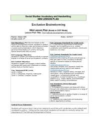 7 sample lesson plan format bookletemplate org 6 point physical