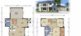 2 Story Modern House Plans 2 Storey House Plans Home Design