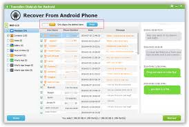 can you recover deleted text messages on android how to recover deleted messages from android phone tunesbro