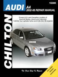 2002 2008 audi a4 sedan avant audi repair manuals pinterest