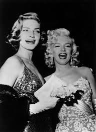 lauren bacall and marilyn monroe 1954 photos remembering the