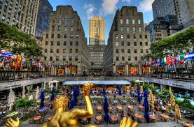Rockefeller Center Summer Garden - rockefeller center sunken plaza gallery and prints