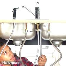 how to replace kitchen faucet kitchen faucet sprayer replacement ibbc club