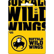 dining gift cards buffalo wings gift card entertainment dining gifts