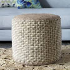 round coffee table with ottomans foter