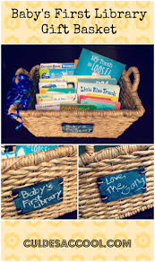 baby u0027s first library gift basket children u0027s books pinterest