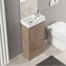 Basin And Toilet Vanity Unit 200mm Depth Cloakroom Vanity Units Ergonomic Designs