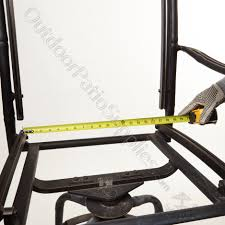 how to measure two piece chair sling