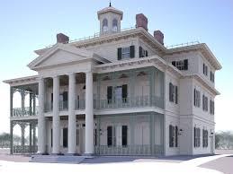 haunted mansion rendering whiskeybeforebreakfast
