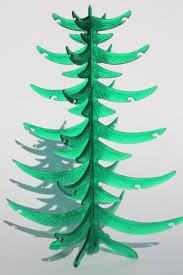 retro green lucite plastic tabletop tree vintage