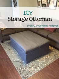 Diy Storage Ottoman Diy Storage Ottoman Martha