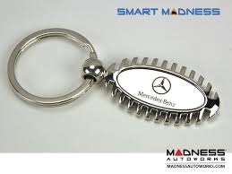 mercedes accessories store mercedes keychain oval shape w cut outs store