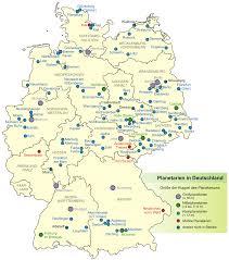 map of deutschland germany planetarien in deutschland 1 mapsof net