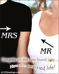 Best Wishes For Wedding Couple A Card For The Just Married Couple Free Just Married Ecards 123