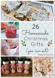 26 edible homemade christmas gift ideas homemade christmas gifts