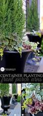 container plantings front porch urns bystephanielynn