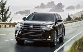 toyota suv 2019 toyota highlander redesign and release date 2019 toyota