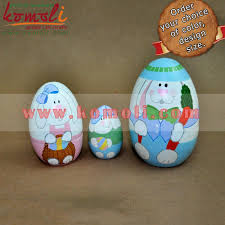 painted wooden easter eggs nesting easter egg painted wooden easter eggs wooden dolls buy