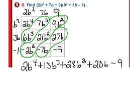 showme polynomials module 6 review