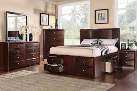 bed frames king bed frame with storage drawers bed with drawers