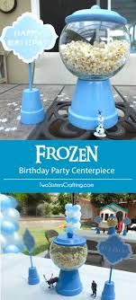 party centerpieces disney frozen centerpiece two
