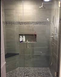 Tile Shower Pictures by This Renovated Bathroom Now Has A Contemporary Style With An