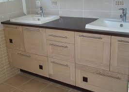 faire un meuble de cuisine faire meuble de salle de bain avec meuble de cuisine idées de