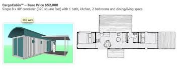 Shipping Container Floor Plans by Ballard Company Turning Shipping Containers Into Homes Curbed