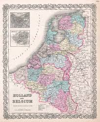 New York Political Map by Large Scale Old Political And Administrative Map Of Holland And