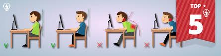 Computer Desk Posture 5 Steps To Correct Posture With Desk Ergonomics Ryandewitt Com