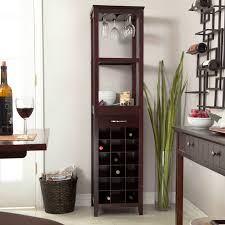 furniture gorgeous unique bakers rack with wine storage for home